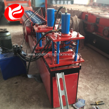 Iron steel rolling shutter door roll forming machine